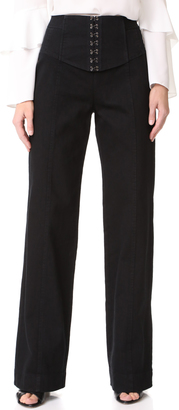 Nanette Lepore Hook Up Pants $398 thestylecure.com