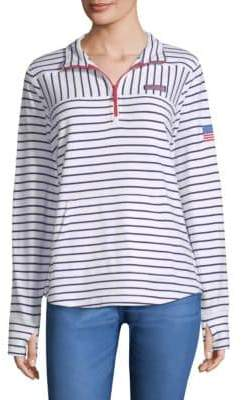 Vineyard Vines USA Mixed Stripe Sweater