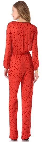 Moschino Cheap & Chic Moschino Cheap and Chic Dot Jumpsuit
