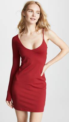 Susana Monaco One Sleeve Strap Dress