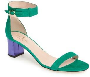 Women's Kate Spade New York Menorca Ankle Strap Sandal $298 thestylecure.com