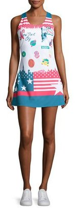 Fila MB Court Central Dress, Multicolor $220 thestylecure.com