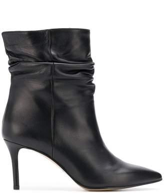 Marc Ellis ruched ankle boots