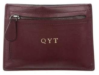 Bottega Veneta Intrecciato-Trimmed Leather Wallet
