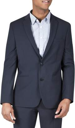 Kenneth Cole Reaction Techni-Cole Micro Grid Flex Suit Jacket