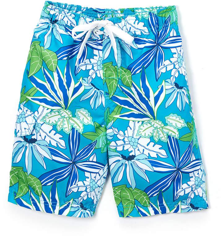 Aqua Aruba Floral Swim Trunks - Infant & Boys