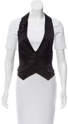 Dolce & Gabbana Wool-Blend Halter Vest
