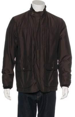 Armani Collezioni Woven Field Jacket