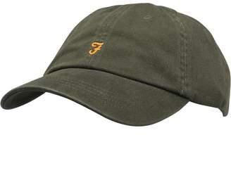 Farah Mens Thorney Twill Baseball Cap Evergreen af2e2c9195db