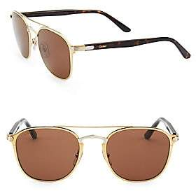 47b728481d2 Cartier Women s Calixte Rectangular Sunglasses