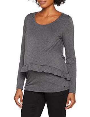 Esprit Women's T-Shirt Nursing Ls Maternity Long Sleeve Top,(Manufacturer Size: M)