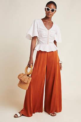 Maeve Shiloh Knit Wide-Leg Pants
