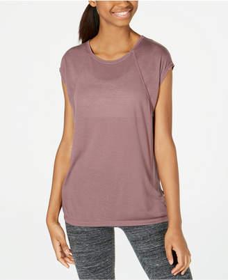 Calvin Klein Cap-Sleeve Crisscross Back T-Shirt