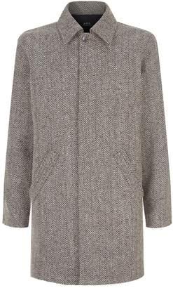 A.P.C. Wool Tweed Coat
