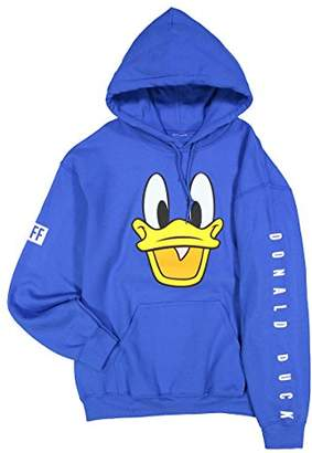 Neff Men's Disney X Donald Duck Pullover Hoodie Sweatshirt