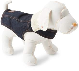 Gap Sherpa-lined denim dog jacket