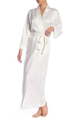 ... Flora Nikrooz Sleepwear Margarita Satin Robe 4e82c409c
