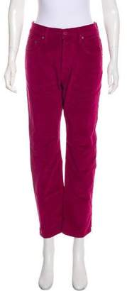 Dolce & Gabbana High-Rise Corduroy Pants