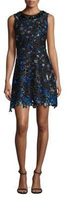 Elie Tahari Elisha Shift Dress $498 thestylecure.com