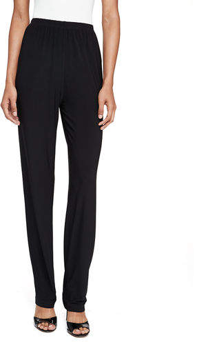 Caroline RoseCaroline Rose Stretch-Knit Straight-Leg Pants, Plus Size