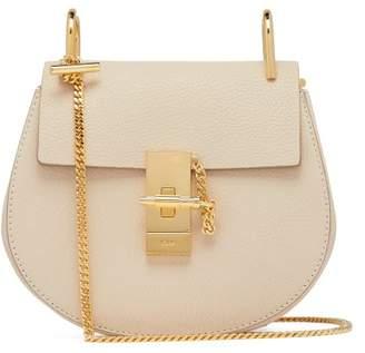 Chloé Drew Mini Leather Cross Body Bag - Womens - Cream
