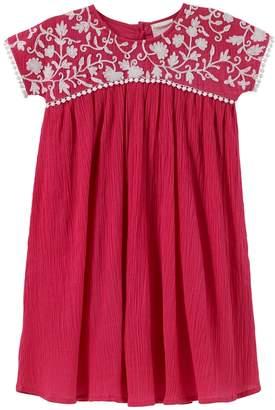 Masala Baby Embroidery Shift Dress