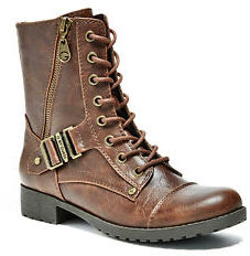 GByGUESS G By Guess Women's Brookey Combat Boots $79.99 thestylecure.com