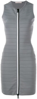 Christopher Kane zip-through bandage dress