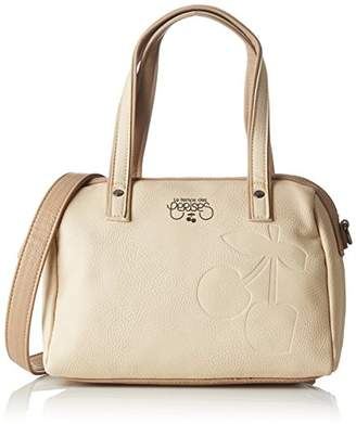 Le Temps Des Cerises Women's Elegance beige/taupe Top-Handle Bag Beige
