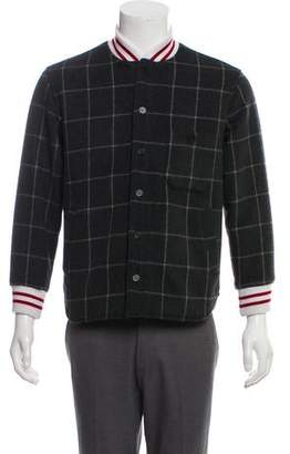 MAISON KITSUNÉ Plaid Bomber Jacket