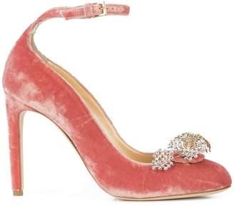 Chloé Gosselin ankle strap embellished pumps