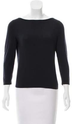 Celine Cashmere Long Sleeve Sweater