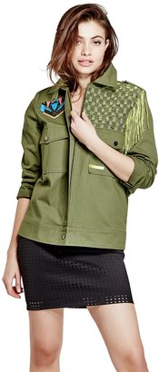 GUESS Flynn Cargo Jacket $128 thestylecure.com