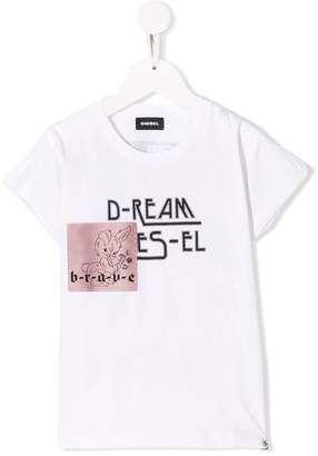 Diesel patched T-shirt