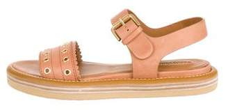 See by Chloe Leather Ankle-Strap Sandals w/ Tags