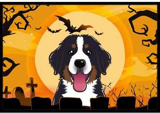 Caroline's Treasures Halloween Bernese Mountain Dog Doormat Mat