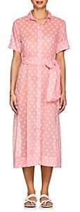 Lisa Marie Fernandez Women's Dotted Cotton Voile Shirtdress-Pink