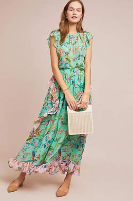 Banjanan Mughal Garden Silk Skirt