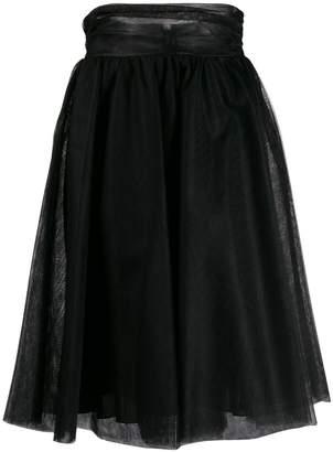 Pinko A-Line flared skirt