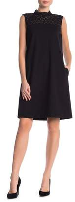 Lafayette 148 New York Ines Lace Combo Dress