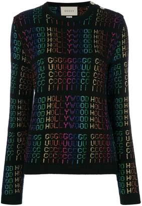 Gucci Hollywood metallic sweater