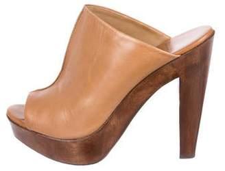 Diane von Furstenberg Platform Slide Sandals