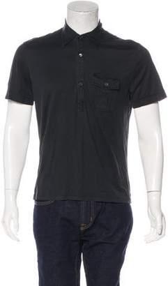 Gucci Woven Polo Shirt