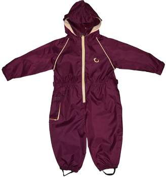 Hippy Chick Hippychick Waterproof All-in-One Suit - Burgundy/Sand 12-18 Months