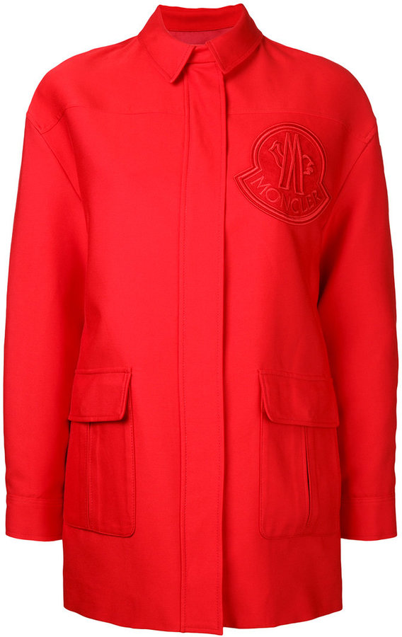 Moncler Gamme Rouge single breasted coat