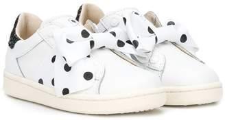 Moa Kids embellished slip-on sneakers