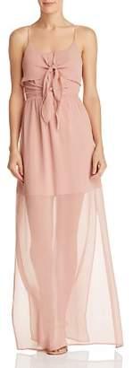 WAYF Charmed Tie-Front Dress - 100% Exclusive
