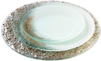Glass Made Glass Dinner Plate Set