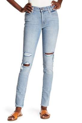 Levi's 721(TM) Ripped Skinny Jeans (Worn & Torn)