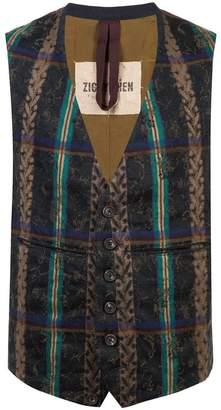 Ziggy Chen striped vest